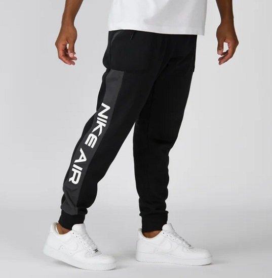 Nike Air Fleece Joggers Jogginghose in Schwarz für 49,99€ (statt 67€)