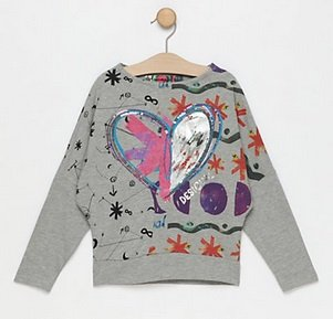 Desigual Kinder & Baby Fashion Sale, z.B. Sweatshirt ab 19,99€, Jacken ab 49,99€