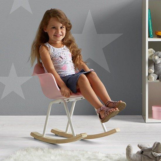 Bessagi Kids 'Bobby' Kinderschaukelstuhl in zwei Farben für je 20,85€ (statt 33€)