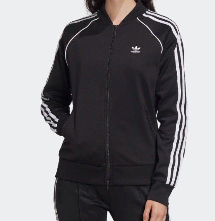Adidas SST Originals Damen Jacke in schwarz oder rot für je 39,75€ inkl. Versand (statt 48€)