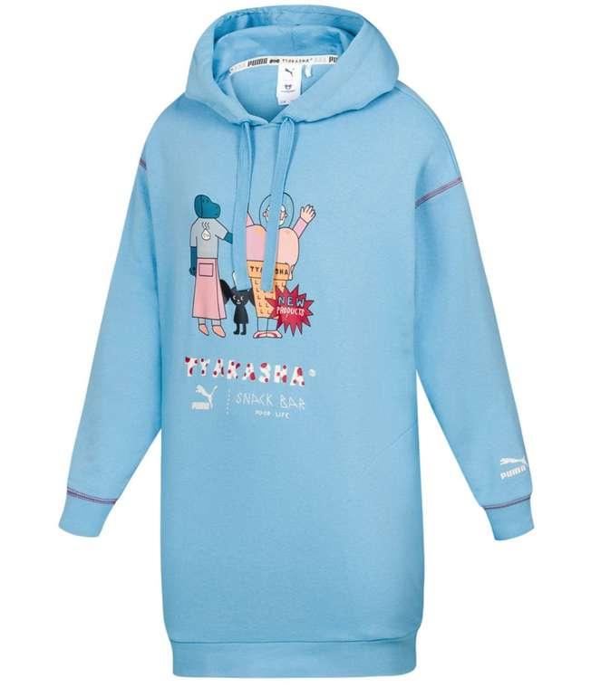 Puma x Tyakasha Oversize Damen Sweatshirt Kleid für 38,94€ inkl. Versand (statt 50€)