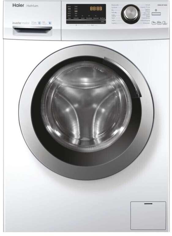 Haier HW80-BP14636N Waschmaschine (8 kg, 1400 UpM, Dampf-Funktion, A) für 259,90€ inkl. Versand (statt 312€)