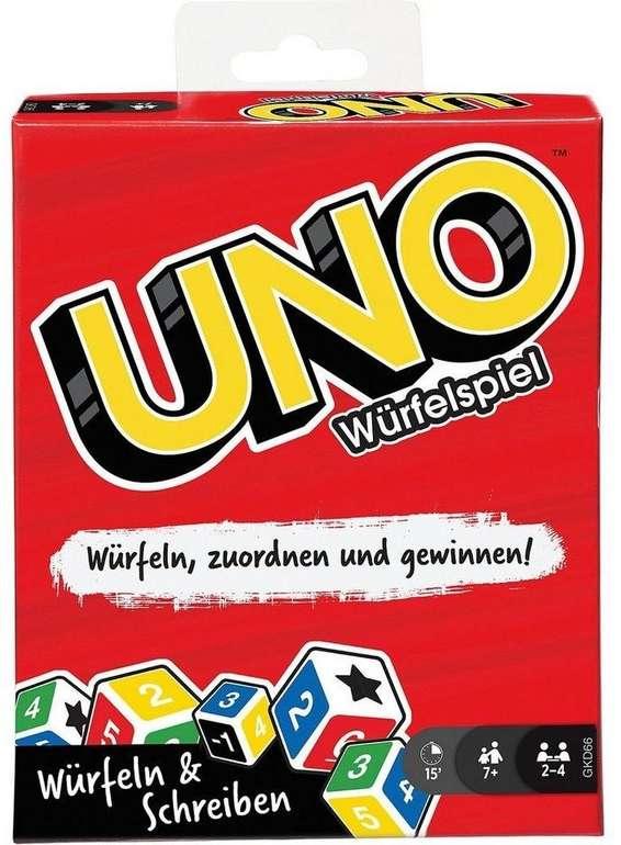 Uno Würfelspiel (GKD66) für 7,63€ inkl. Prime Versand (statt 11€)