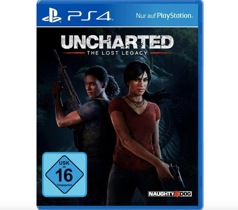 Uncharted: The Lost Legacy (PS4) für 14,99€ (Vergleich: 21€)