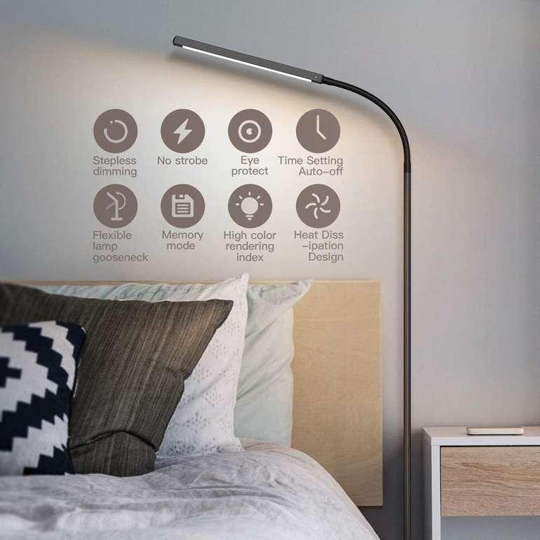 Dodocool LED Stehlampe (12W, 4 Farbtemperaturen, dimmbar) für 29,99€ inkl. Versand (statt 36€)