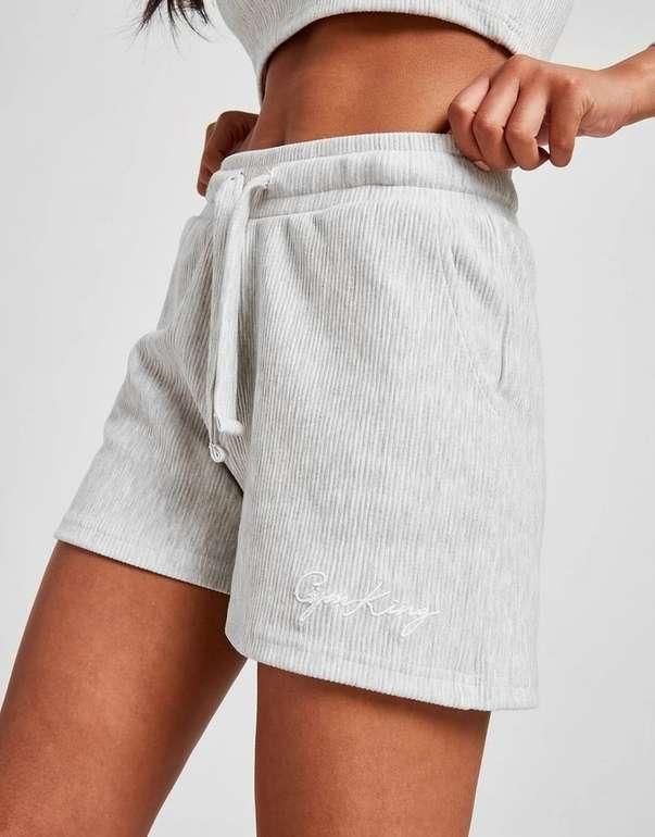 Gym King Damen Sky Script Texture Shorts für 15€ inkl. Versand (statt 32€)