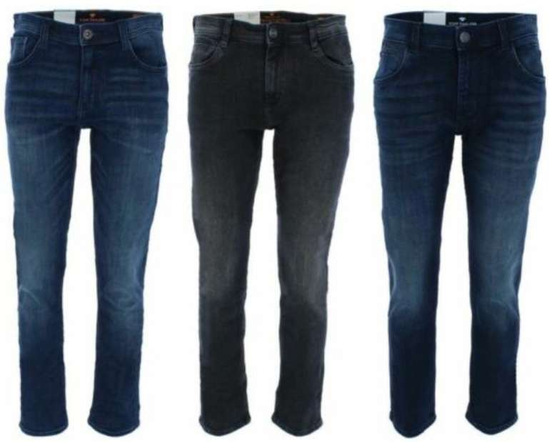 Tom Tailor Herren Jeans Josh Regular & Marvin Straight für je 39,99€ inkl. Versand