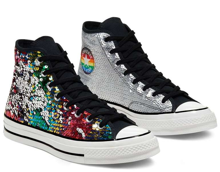 Converse Gender Neutral Pride Chuck 70 High Top Sneaker für 42,49€ inkl. Versand (statt 69€)