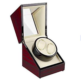 Uten Uhrenbeweger 2 Holz für 29,99€ inkl. Versand (statt 50€)