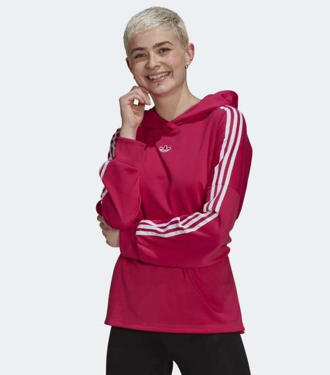 Adidas Originals Damen Hoodie mit Bindegürtel für 31,85€ inkl. Versand (statt 38€)