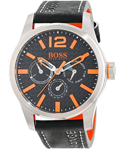 "Hugo Boss Orange Herrenuhr ""Paris"" (1513228) für 79,99€ inkl. VSK (statt 112€)"