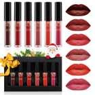 Luckyfine Lipgloss Set mit 6 Farben (matt) für 6,59€ inkl. Prime VSK