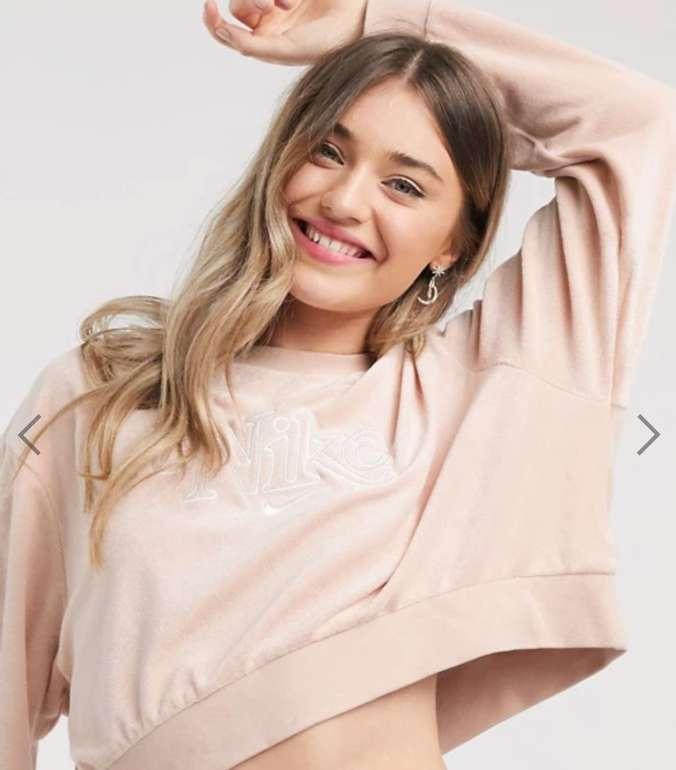 "Nike Sportswear Damen Retro Fleece Sweater im ""Shimmer""-Design für 35,10€ inkl. Versand (statt 44€)"