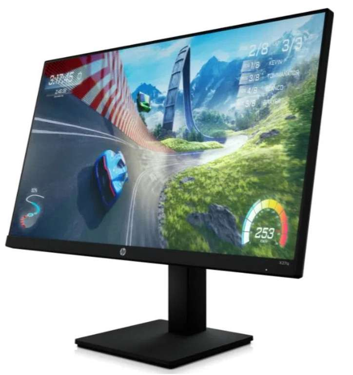 """HP X27q – 27"""" Gaming-LED-Monitor (QHD, 1 ms Reaktionszeit, 165 Hz) für 249,77€ inkl. Versand (statt 279€)"""