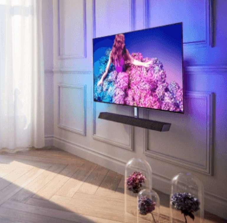 """Philips 55OLED934/12 - 55"""" UHD 4K OLED Smart TV mit Ambilight für 1999€ (statt 2569€)"""