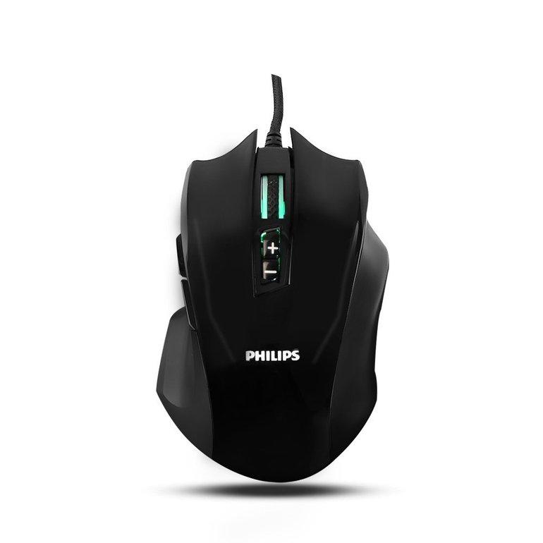 Philips Gaming RGB Maus mit 9 programmierbaren Tasten für 6,99€ mit Prime