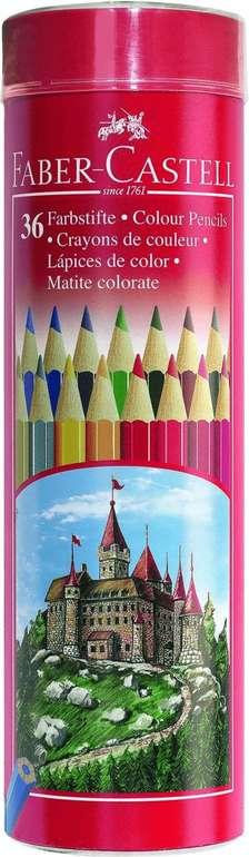 Faber-Castell 36 Farbstifte in Metall-Runddose (115828) für 13,05€ (statt 24€) - Prime!