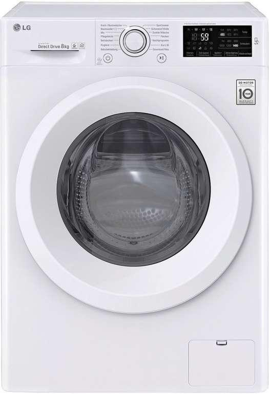 LG F14WM8LN0 Serie 3 Waschmaschine mit 8kg & A+++ für 359,10€ inkl. Versand