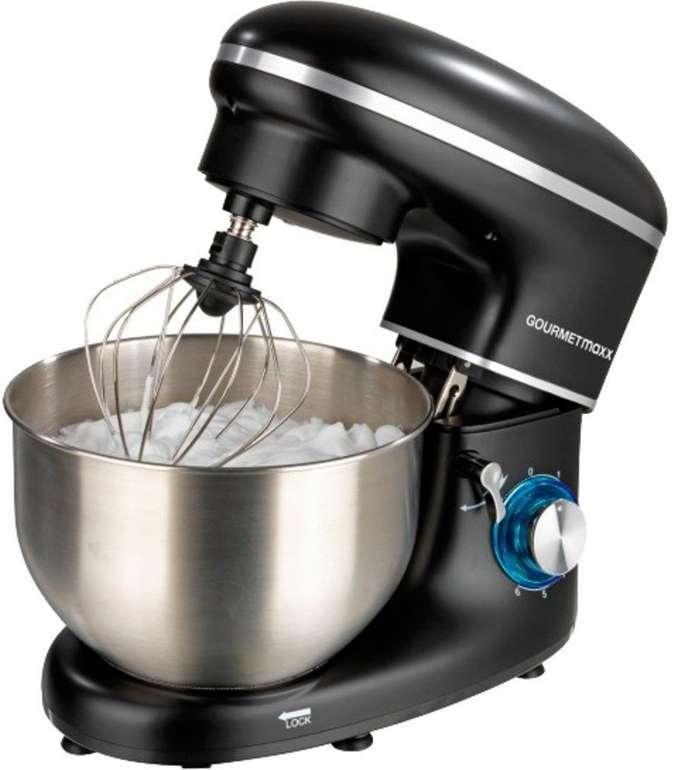 GOURMETmaxx Küchenmaschine (1500W) mit 6 Geschwindigkeitsstufen und Turbofunktion für 89,09€ inkl. Versand (statt 110€)