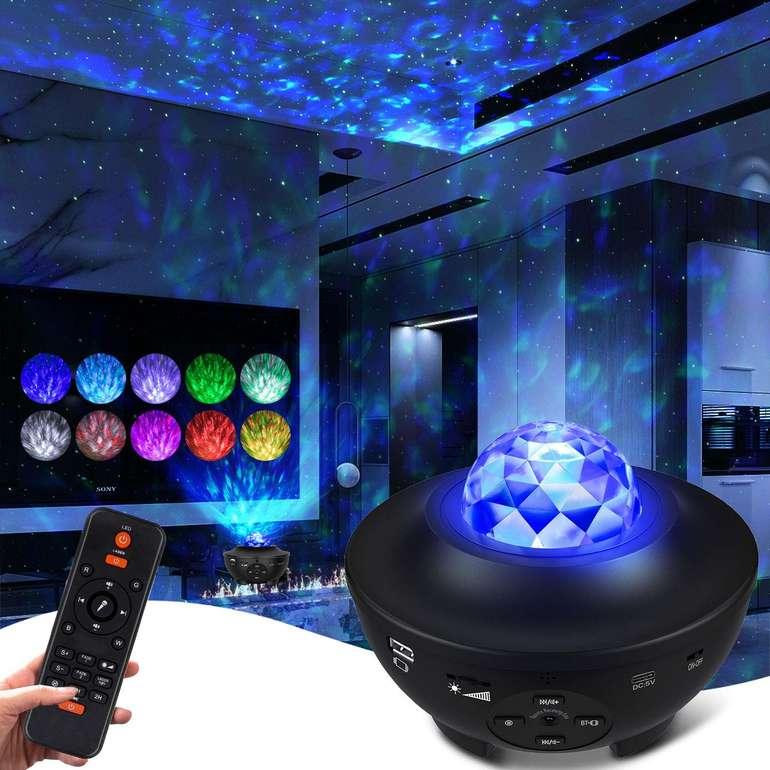 Ceshu LED Sternenhimmel Projektor mit Lautsprecher für 17,59€ inkl. Versand (statt 32€)