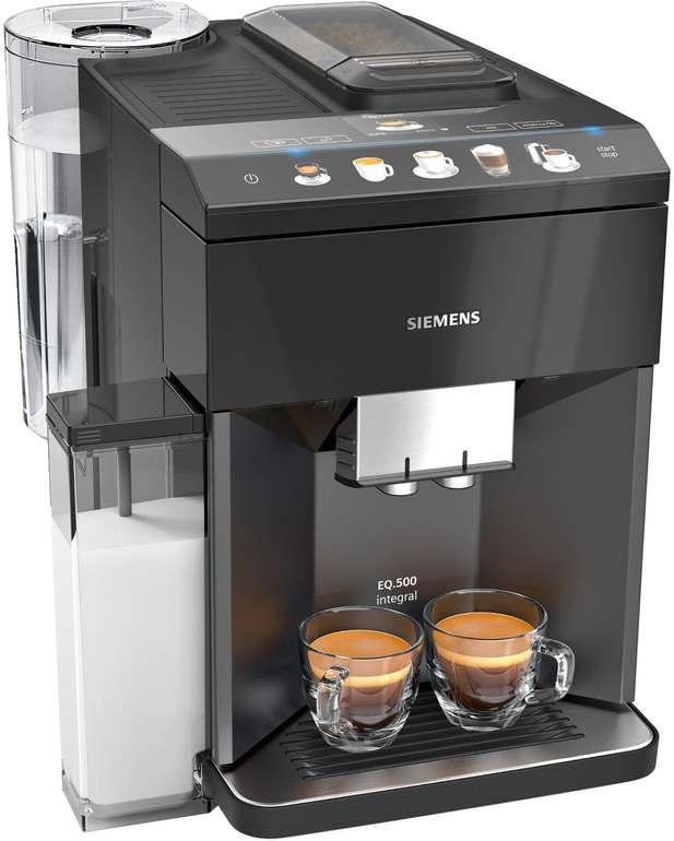 Siemens Kaffeevollautomat TQ503D01 EQ.500 für 499,99€ inkl. Versand (statt 551€)