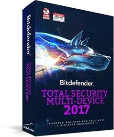 Geht noch: Bitdefender Total Security Multi Device 2017 (5 Geräte) 13,99€