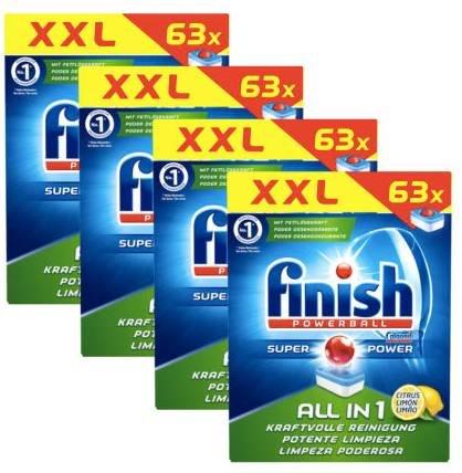 252x Finish All-in-1 Citrus Spülmaschinentabs für 24,99€ inkl. Versand (statt 33€)