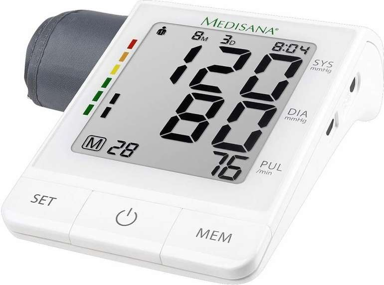 Prime Days: Medisana BU 530 Connect Oberarm-Blutdruckmessgerät für 23,95€ inkl. Prime Versand (statt 36€)