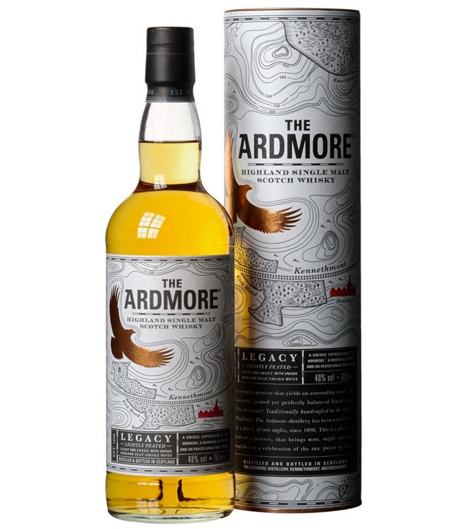 Ardmore Legacy Highland Single Malt Scotch 0,7l für 18,89€ (statt 25€)