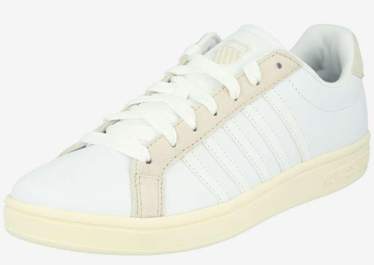 """K-Swiss Sneaker """"Court Tiebreak"""" in beige / weiß für 17,90€inkl. Versand (statt 30€)"""