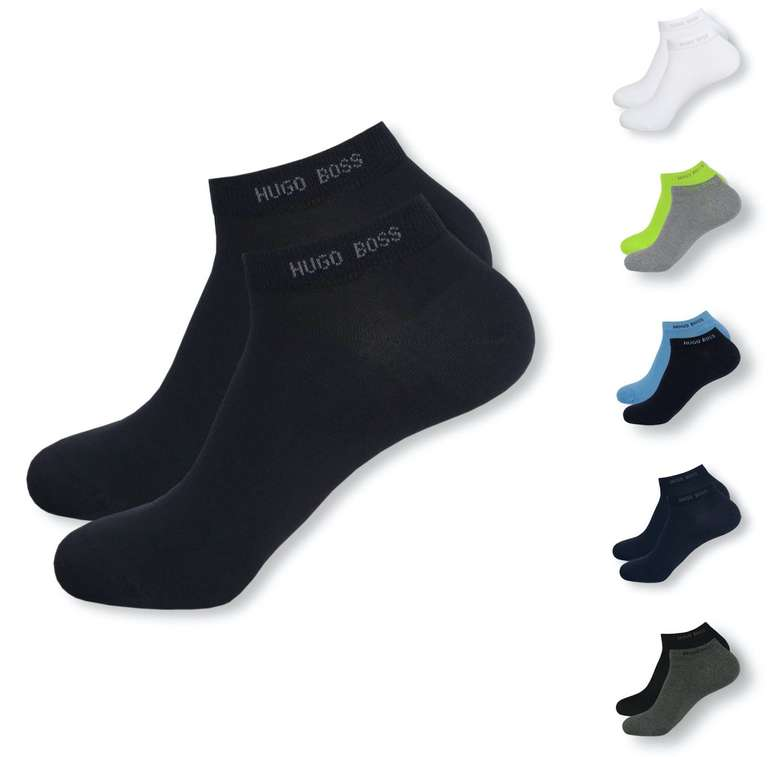 8er Pack Hugo Boss Sneaker Socken (versch. Farben) für 31,99€ (statt 38€) - Newsletter Gutschein!