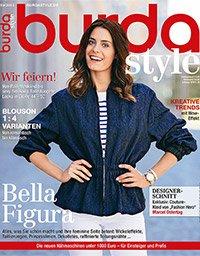 """6 Ausgaben """"Burda Style"""" (Kreativmagazin) für 29,50€ + 20€ Verrechnungsscheck"""