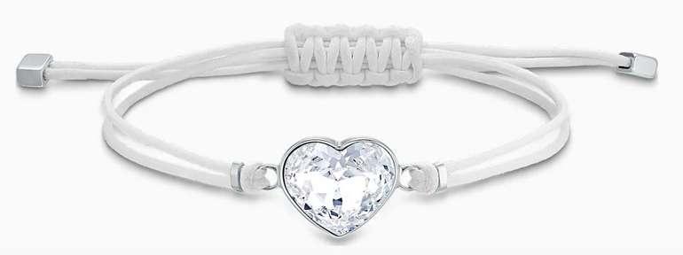 Swarovski Power Collection Heart Armband (weiss, Edelstahl) für 31,45€ inkl. Versand (statt 40€)