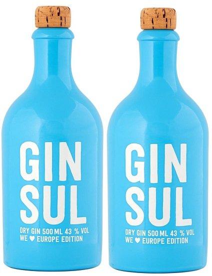 2x Gin Sul Dry Gin Europe Edition 43% (0,5 Liter) für 71,82€ inkl. Versand (statt 80€)