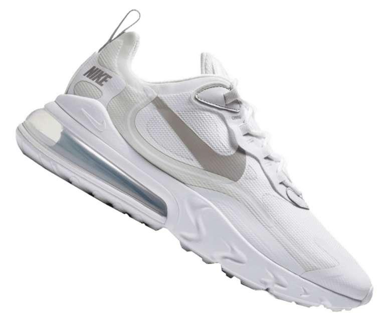 Nike Freizeitschuh Air Max 270 React in weiß für 79,95€inkl. Versand (statt 95€)