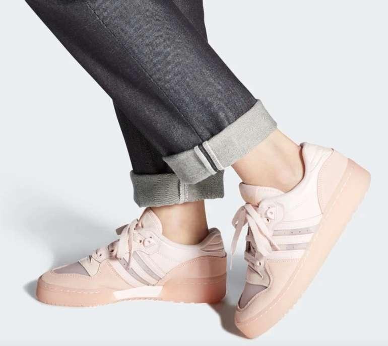 """Adidas Originals Rivalry Low Damen Sneaker im """"Vapour Pink""""-Colourway für 49,10€ (statt 85€)"""