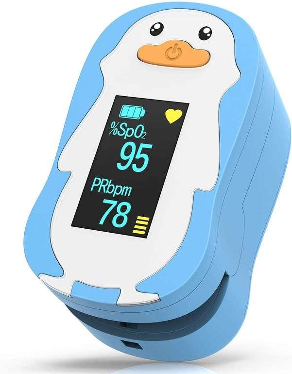 HOMIEE Pulsoximeter für Kinder (OLED Display, 2 Farben) ab 25,89€ (Prime)
