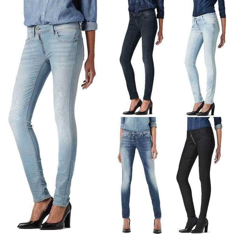 G-Star Damen Jeans Lynn - Zip Mid Skinny für 39,99€ inkl. Versand (statt 68€)