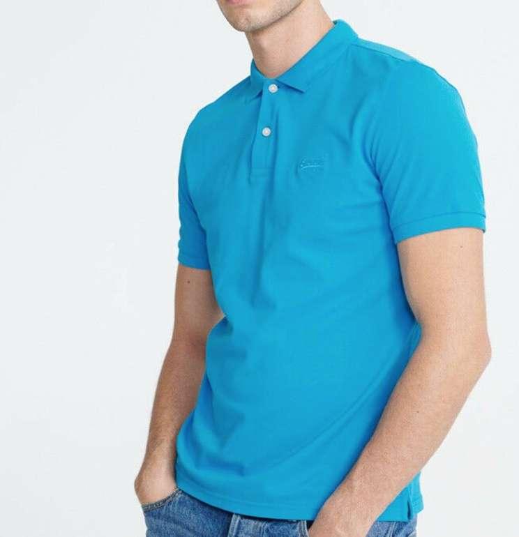Superdry Herren Micro Lite Poloshirts für je 19,95€ inkl. Versand (statt 29€)
