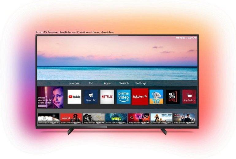 Philips 70PUS6704 - 70 Zoll 4K Ultra-HD LED Smart TV für 749€ inkl. VSK (statt 829€)