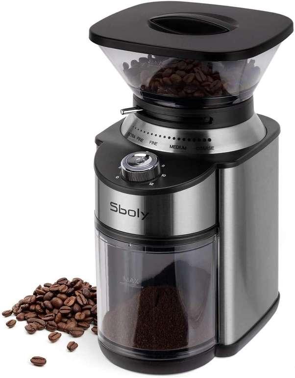 Sboly Kaffeemühle mit konischem Mahlwerk ab 42,07€ inkl. Versand (statt 66€)