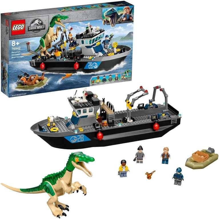 Lego Jurassic World Flucht des Baryonyx (76942) für 54,98€ inkl. Versand (statt 63€)