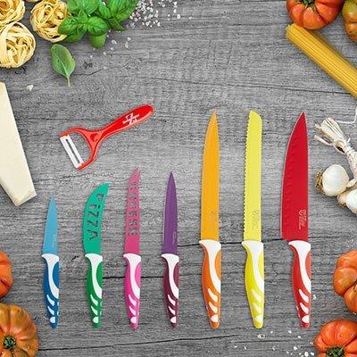 8-tlg. Swiss Home Messer- und Sparschälerset + Gratisartikel für 2,97€ + Versand