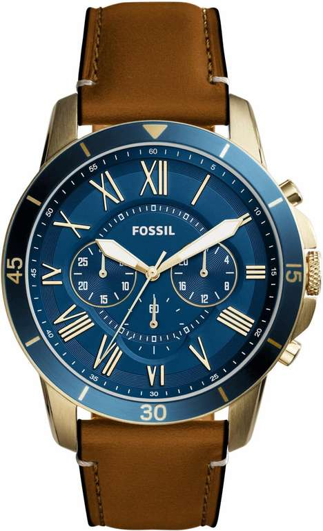 Fossil Herrenchronograph Grant FS5268 für 79,50€ inkl. Versand (statt 127€)