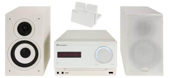 Pioneer X-CM32BTD-W HiFi Stereoanlage mit DAB+ und Bluetooth für 149€
