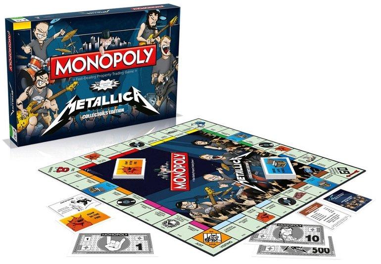 Monopoly Metallica Edition für 39,99€ inkl. Versand