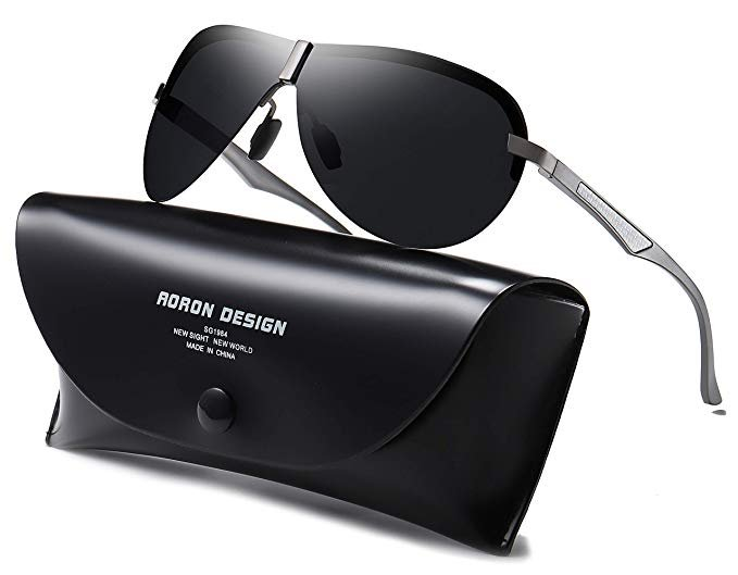 Aoron - polarisierte Herren Sonnenbrille mit UV400-Schutz für 10,79€ inkl. Prime Versand (statt 18€)