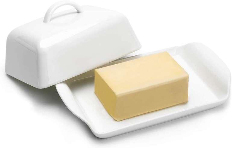 Sweese 315.101 Porzellan Butterdose für 13,64€ inkl. Prime Versand (statt 21€)