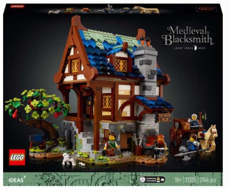 Lego Ideas - Mittelalterliche Schmiede (21325) für 124,99€ inkl. Versand (statt 139€)
