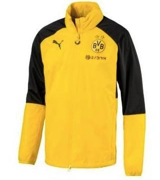 Puma BVB Borussia Dortmund Herren Regenjacke 17/18 für 24,08€ (statt 35€)